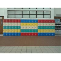 Quality Four Tier Green Plastic School Lockers H1810 * W310 * D460mm With Clover Keyless for sale