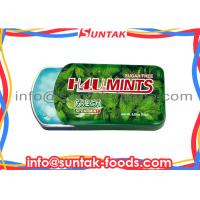 Wholesale Spearmint Cooling Sugar Free Carb Free Candy , Peppermint Hard Candy Easy Taking from china suppliers