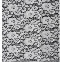 Buy cheap Fashion Garment Elastic Lace Fabric Eco Friendly AZO Free Dyeing from wholesalers