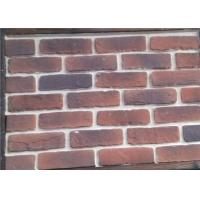 Wholesale Customized Multi Color Faux Exterior Brick Steam - Crued Thickness 10-15mm from china suppliers