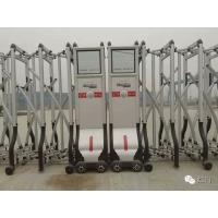 Quality Aluminium Trackless Automatic Folding Gate With Self Align Motor for sale