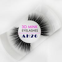 Wholesale Natural Looking Real Mink Eyelashes 100% Handmade Craft For Weddings from china suppliers