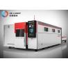Buy cheap Good Design Durable Exchange Worktables Fiber Metal Laser Cutting Machine CNC Laser Cutter from wholesalers