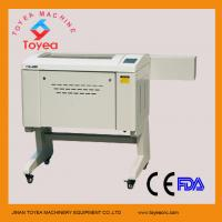 Wholesale Paper Laser engraving cutting machine 400 x 600mm ,60W laser tube,Ruida system TYE-4060 from china suppliers
