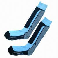 Quality Sports socks for men, skiing socks, knee high for sale