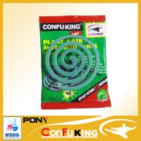 Top quality small size 120mm clean green paper coil for mosquito