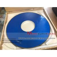 Wholesale D915mm Resin Diamond Grinding Wheel For Thermal Spraying Alloy Materials -julia@moresuperhard.com from china suppliers