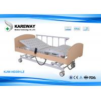 Wholesale Multifunction Hospital Adjustable Patient Bed Detachable With White , Beige Colour from china suppliers
