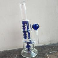 Quality Hand Blown Quality Borosilicate 3.3 Glass Bong Glass Water Pipe for sale