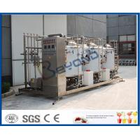Buy cheap Food Grede CIP Cleaning System For Cip Process In Dairy Plant 1000L - 10000L Tank Size from wholesalers