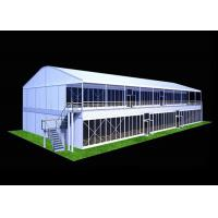 Wholesale Large PVC Fabric Double Decker Tents 2 Floor Shelters UV Resistant from china suppliers