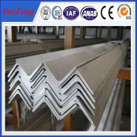 Wholesale 6063 v slot aluminum profile / l shaped aluminum extrusion manufacturer / aluminum l angle from china suppliers