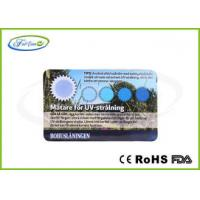 Wholesale Skin Care Color Changing UV Test Card / Plastic UV Indicator cards with Custom Printing from china suppliers