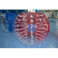 Wholesale Kids / Adults TPU Inflatable Bubble Soccer Equipment Clear Or Colorful from china suppliers