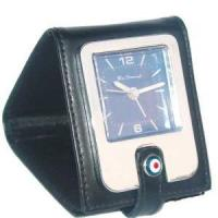 Wholesale Leather Pocket Alarm Clock (KV701B) from china suppliers