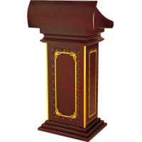 Wholesale Classic Stand Up Pulpit- President Lectern Podium from china suppliers