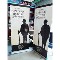 Wholesale Aluminum Pull Up Retractable Display Banners Digital Printing from china suppliers