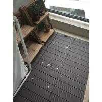Quality Hot sell 300x300mm DIY modern decking tiles 100% recyclable wpc DIY decking tiles for sale