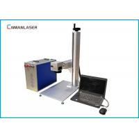 Wholesale 110*110mm 20w 1064nm Mini Fiber Marking Machine For Metal Circuit Boards Knives Tools from china suppliers