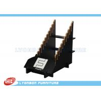 Wholesale Unique Goods Showing Black Wooden Display Floor Stands For Mall Center from china suppliers
