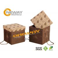 Wholesale Food Kraft Paper Biscuit Packaging Boxes Customized With Matte / Glossy Lamiantioon from china suppliers