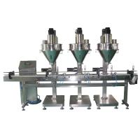 Wholesale Stainless Steel Rotary Powder Filling Machine Linear Auger Screw 25L / 50L Hopper from china suppliers