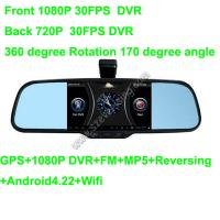 Wholesale 5.0inch Review Mirror with Wifi HD Dual DVR and GPS MP5 from china suppliers