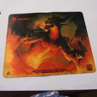 Wholesale Colorful Computer Gaming Mouse Pads Table Desk Mat With Rubber + PK Fabric from china suppliers