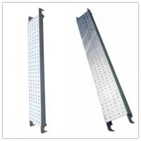 Wholesale Galvanized Pregalvanized steel scaffolding boards with hook , thickness 1.8mm from china suppliers