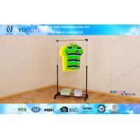 Wholesale Home Use Indoor Laundry Drying Rack / Floor Standing Single-bar Clothing Dryer Hanger from china suppliers