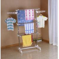 Wholesale Stainless Steel Metal Clothes Drying Rack Folding For Baby Clothes from china suppliers