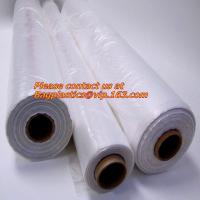 Buy cheap Poly tubing with customer printing and anti static tube film, gusset poly tubing on roll from wholesalers