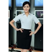 Quality OEM/ODM/Private Label Women's Short Sleeve Business Shirt corporate clothing for sale