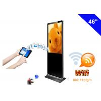 Wholesale Dual Core WiFi Digital Signage Totem , Floor Standing LCD Advertising Display from china suppliers