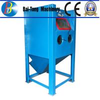 Wholesale Stainless Steel Body Wet Abrasive Blasting Cabinet , Wet Sand Blasting Machine Pneumatic Pedal Switch from china suppliers