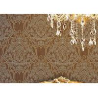 Wholesale Embossed 1.06m Korean Wallpaper , Soundproof Living Room Modern Wallpaper from china suppliers