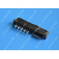 Wholesale 22 Pin Female SATA Data Connector SMT and Reverse Type 1.5A Current Rating from china suppliers