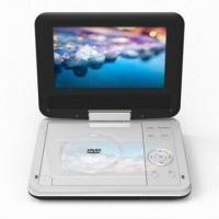Wholesale 7-inch Portable DVD Player with Built-in ISDB-T and 270° Swivel Widescreen from china suppliers