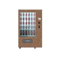 Buy cheap Automated Salad Vending Machines Accept Prepaid Card Member Card For Fitness Centre from wholesalers