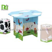 Wholesale Offset 4 Color Corrugated Cardboard Toys With Foldable Seats And Tables from china suppliers