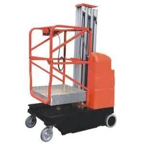 Wholesale Single mast mobile aluminium work platform mast climbing work platform from china suppliers