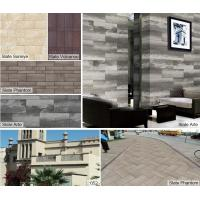 Buy cheap cheap price flexible slate anti-slip fireproof comfortable extrior and interior wall tile from wholesalers