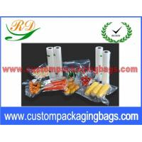 """Wholesale Clear PA + NY Compound Vacuum Seal Bags For Vegetables Packaging 6"""" x 9"""" from china suppliers"""