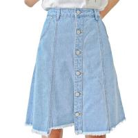 Wholesale Sexy Ladied Summer High Waisted Denim Pencil Skirt , Short Denim Mini Skirt from china suppliers