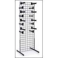 Wholesale Retail Display Racks / unique gridwall displays stand with adjustable wire hook bars from china suppliers