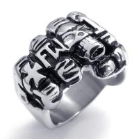 Wholesale Tagor Jewelry Super Fashion 316L Stainless Steel Casting Rings Collection PXR031 from china suppliers