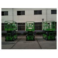 Wholesale 2.45 × 1.35m Aluminum Work Platform , Self Propelled Rough Terrain Scissor Lift from china suppliers