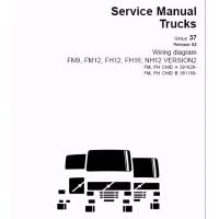 China Volvo Wiring Diagrams Wiring Diagrams for Volvo FM7, FM9, FM10, FM12, FH12, FH16, NH12 on sale