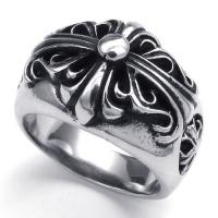 Wholesale Tagor Jewelry Super Fashion 316L Stainless Steel Casting Rings Collection PXR041 from china suppliers