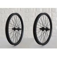 Wholesale 25mm Depth Carbon BMX Wheels Tubeless Ready Design For BMX Dirt Jumps from china suppliers